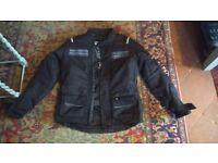 Richa Phantom Motorcycle Jacket Textile - Medium - Black