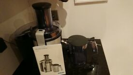 Philips juicer HR1861 in aluminium -like new