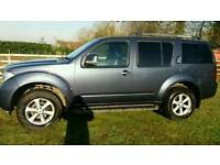 Nissan pathfinder adventura 2008 2.5 dci 7 seats