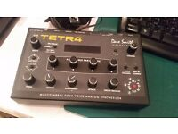 SUPER RARE Dave Smith TETRA 4 programable Analog synth module