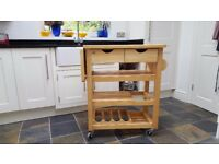 T&G Woodware Assembled Viva Trolley