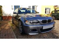E46 BMW M3 Coupe manual in Silver Grey - excellent condition