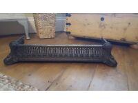 Victorian cast iron Fender
