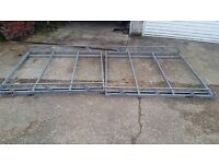 VW Transporter T5 Heavy duty Roof rack with roller