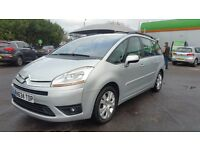 7 SEATER CITROËN C4 GRAND PICASSO AUTOMATIC IN EXCELLENT CONDITION. LONG MOT. CAMBELT REPLACED.