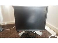 "Dell 17"" LCD Monitor Computer"