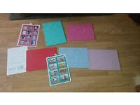 card making templates , double sided with picture instructions £5 cosham