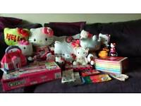 Hello Kitty Plush/DVD/Toy Bundle