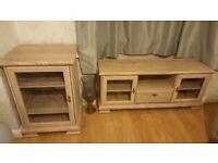 Tv unit and hi fi cabinet