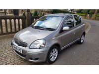 2005 TOYOTA YARIS 1.3 COLOUR COLLECTION 91000 MILES RECENT SERVICE NEW TYRE'S DRIVES VERY NICE