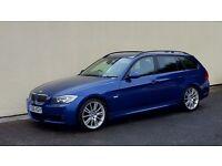 2005 BMW 330D M SPORT TOURING ESTATE NATIONWIDE DELIVERY, WARRANTY, MINIMUM £200 PART EX, BARGAIN