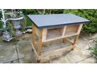 NEW! Rabbit or Guinea Pig Hutch for sale easy access for cleaning, opens from the roof.