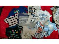 Baby clothes bundle pack set 36 pcs 0-3 3-6