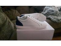 White trainers Kurt Geiger size 11 brand new
