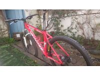 "Specialized Stumpjumper Hardtail Mountain Bike (medium/18"")"