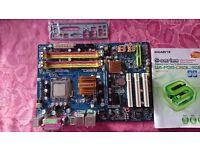 Gigabyte GA-P35-DS3L LGA775 ATX Motherboard with BP and CPU Intel Core 2 Duo 6600