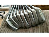 Howson hunter over sized clubs and 135 drivers