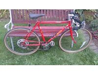 (Urgent) Vintage Raleigh Pacer Road Racing Touring City Bike - small frame size