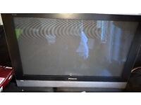 panasoinc 37 plasma with freeview sony dvd player