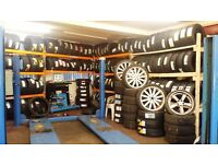 New and Part worn Tyres, Michelin Goodyear, Dunlop, Pirelli, Budget