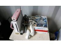 Nintendo Wii console, controllers and gamess