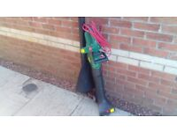 Qualcast leaf blower and vacuum in new condition