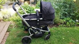 Mothercare xpedior travel system pram and car seat