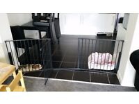 Stair gate/room gate extra wide