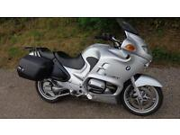 2002 BMW R1150RT WITH FSH ONLY DONE 20,574 MILES BMW PANNIERS MOT FOR 1 YEAR