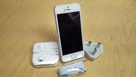 Apple iPhone 5 - 16GB - White & Silver (Vodafone) Smartphone