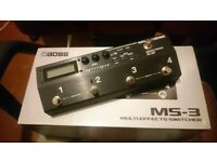 Boss MS3 and extra stuff