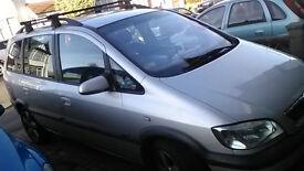 vauxhall zafira 2005 diesel manual £300 MOT 10 MONTH