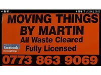 ***Moving Things By Martin Rubbish Clearance and Demolition***