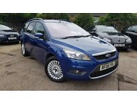 2008 FORD FOCUS ESTATE TITANIUM 2.0TDCI,ONE OWNER,FULL HEATED LEATHER,VERY GOOD COND.
