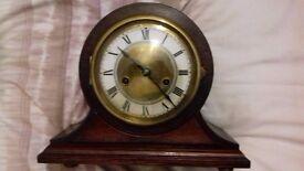 VINTAGE MANTLE CLOCK. 1926 GERMAN MADE..