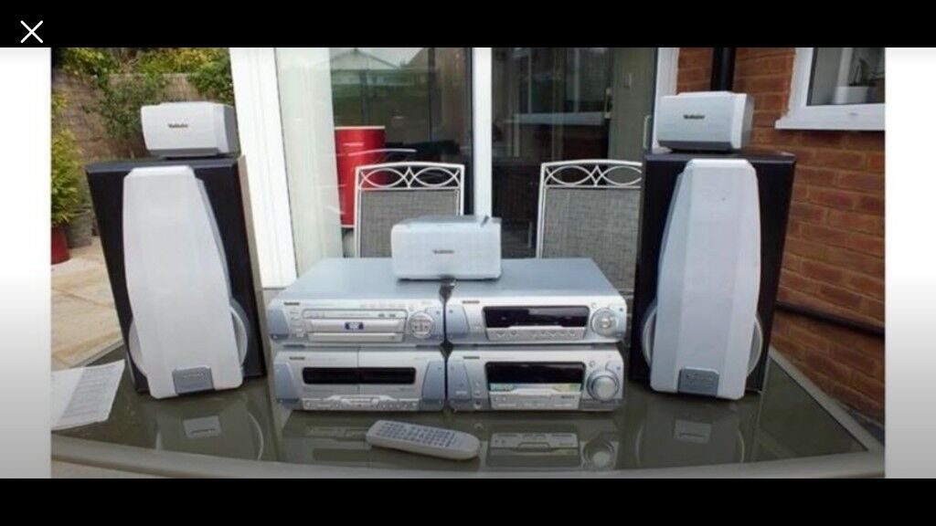 echnics Stereo System DVD/CD AND CASSETTE SC-DV250 | in Plymouth, Devon |  Gumtree