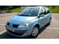 Stunning 2007 Renault Scenic 1.6 with full service history, full MOT and 3 months warranty