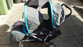 Double Buggy with accessories