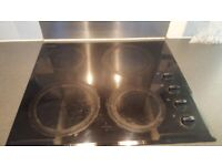 Electric hob used but fully working from John Lewis
