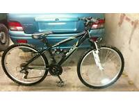 Mountain bike nearly new