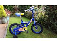 Bumper Blazer bike for 4 - 6 years.