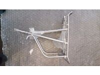 Brand new lightweight alloy adjustable pannier rack- surplus to requirement - unused