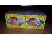 kids DVDs collection Dora vgc 20£