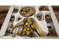 Cheap. Gold plated Teaset. Brand New boxed.