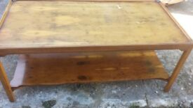 large coffee table good condition only £7.00