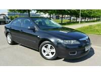 Mazda 6 in black. 5dr. 12 Month MOT. vectra astra mondeo civic megane almera