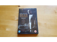 Clint Eastwood Gran Torino DVD Used once. £1