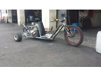 200 cc drift trike with reverse gear and 5 gears