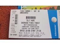 2 x Olly Murs tickets