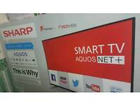 Sharp 55 inch smart led brand new